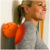 Moji Heated Large Massage Ball Female_ Back