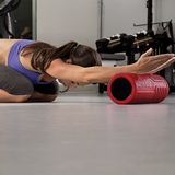 SKLZ Barrel Roller Firm product in use - woman rolling hands