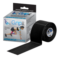 Gripit – Advance Ktape 50mm Black product and packaging box
