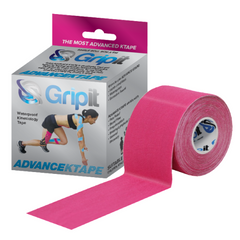 Gripit – Advance  Ktape 50mm Pink- product and packaging box