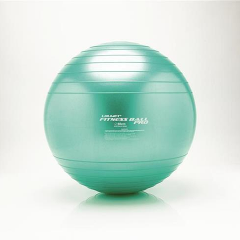 The Loumet Fitness Ball Pro metallic Green
