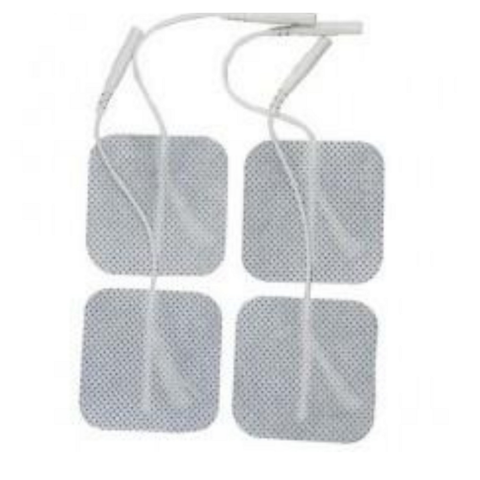 Metron Cloth Electrodes, 50mm Square, 4/pack