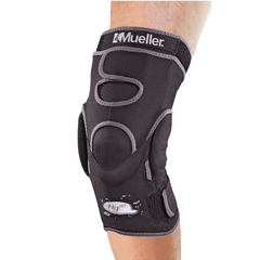 Mueller HG80 Hinged Knee Brace in use
