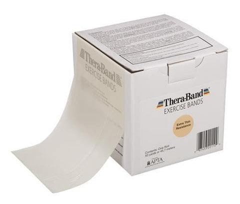 TheraBand Resistance Exercise Band , In Dispenser Box 45.5m Tan
