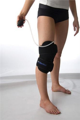 Talar Made Cold Compression Therapy, Knee product in use