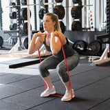 SKLZ Pro Bands Medium Product in use  - woman on thigh workout