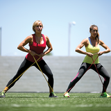 SKLZ Pro Bands Light product in use - Women working out pulling bands