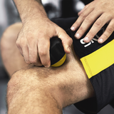 SKLZ Roller Ball in use - rolling on knee