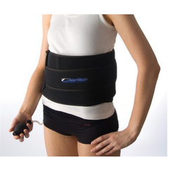 Talar Made Cold Compression Therapy, Back -product in use