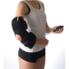 Talar Cold Compression Therapy, Elbow product in use