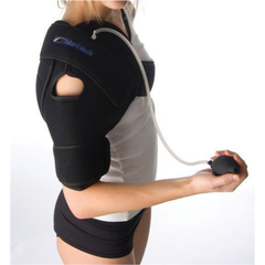 Talar Made Cold Compression Therapy, Shoulder product in use