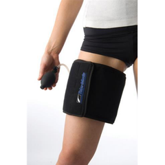 Talar Made Cold Compression Therapy, Thigh product in use