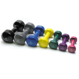 Australian Barbell Dumbbell  Vinyl Coated All colours