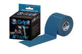 Gripit - Kinesiology Tape 50mm x 5m Navy Blue product and packaging box
