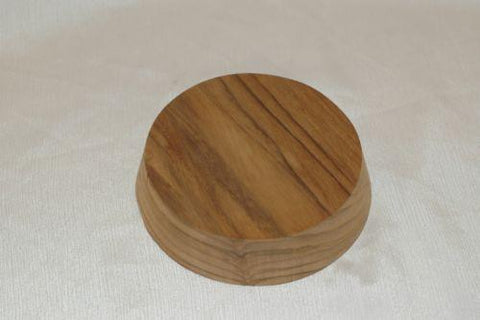 "4.5"" Teak sail boat winch pad mounting block, compass mount, Flat Deck and Cabin Hardware part from MarineSurplus.com"