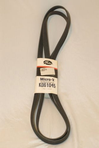 Gates K061045 Micro-V Serpentine belt Engine Parts part from MarineSurplus.com