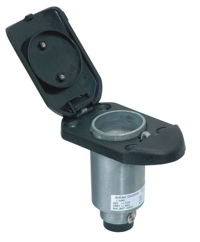 Aqua Signal Plug-In Heavy Duty Pole Light Base - Series 22 - 22810-7