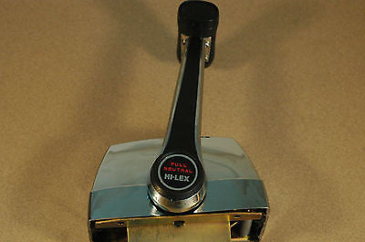 single lever throttle shift binnacle control top mount for outboard or sterndrive Controls & Steering MarineSurplus.com