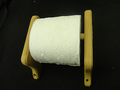 Natural Teak toilet paper tissue holder or small towel rack Toilet Paper Storage & Covers part from MarineSurplus.com