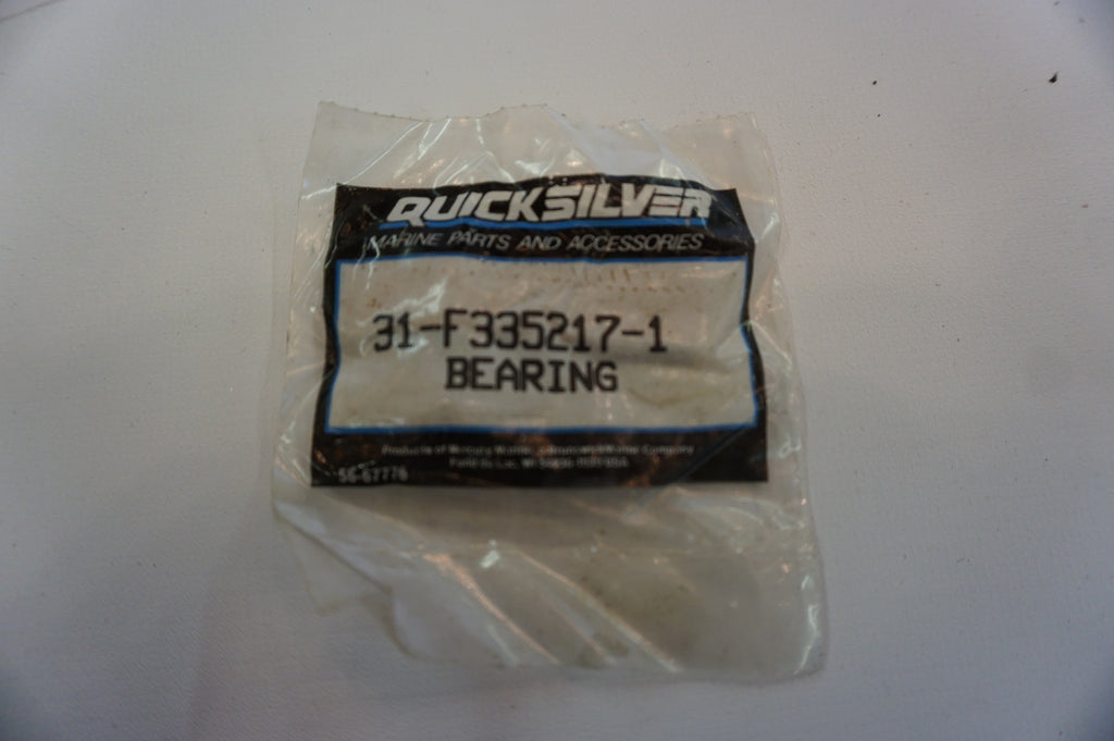 Genuine OEM Mercury Marine Quicksilver Bearing Set - 31-F335217-1