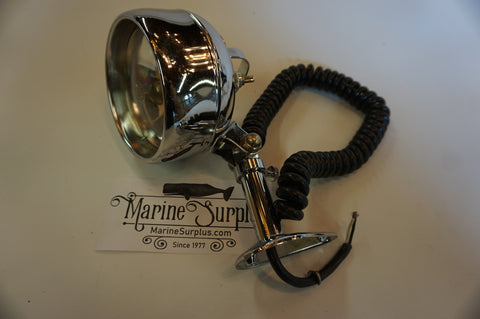12v Chrome Marine Searchlight - Peterson 2516-70
