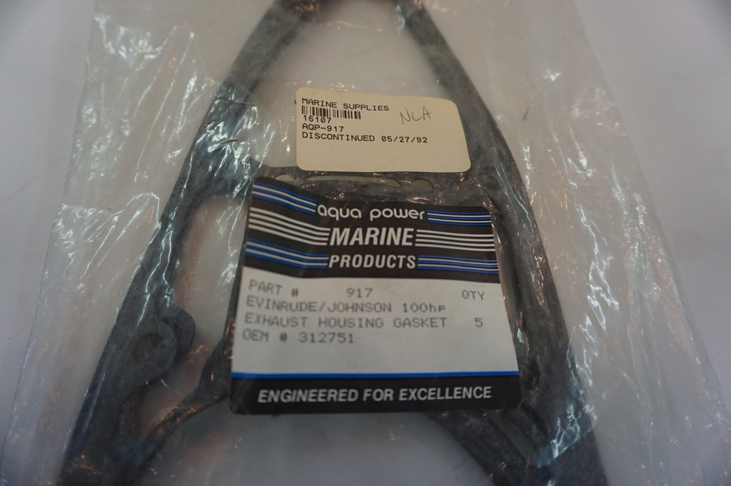 Aqua Power Marine - OMC Evinrude Johnson Exhaust Housing Gasket 312751