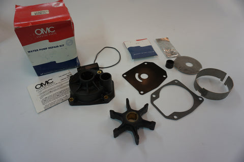 Genuine OEM - OMC Johnson Evinrude Water Pump Repair Kit - 0 438579 - NOS