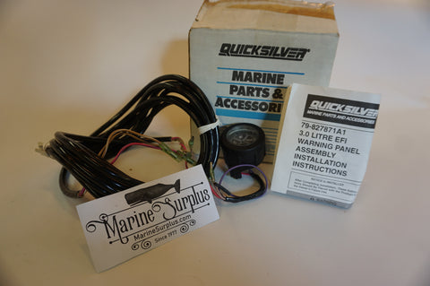 Genuine OEM Mercury Marine Quicksilver Warning Gauge Kit - 79-827871A1, 79-859698A1