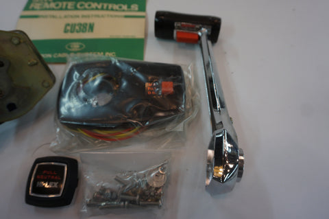 Hi-Lex Side Mount Universal Throttle / Shift Control Box with Trim - New - CU38N