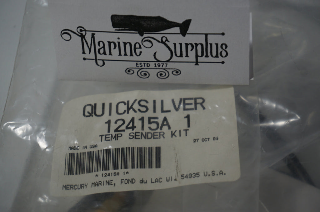 Genuine Mercury Marine Quicksilver Temp Sender Kit - 12415A 1