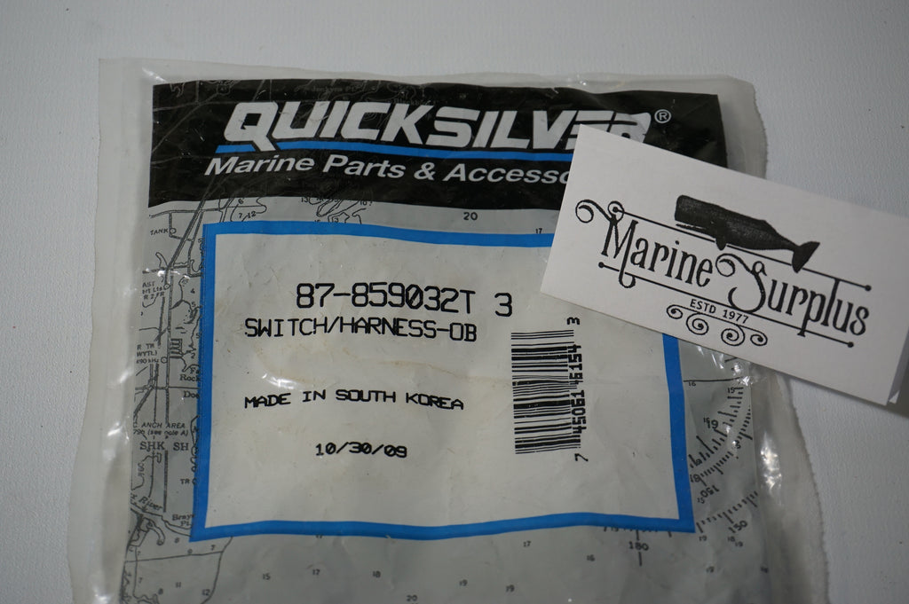 Genuine Mercury Marine Quicksilver - Switch Harness Assembly - 87-859032T 3