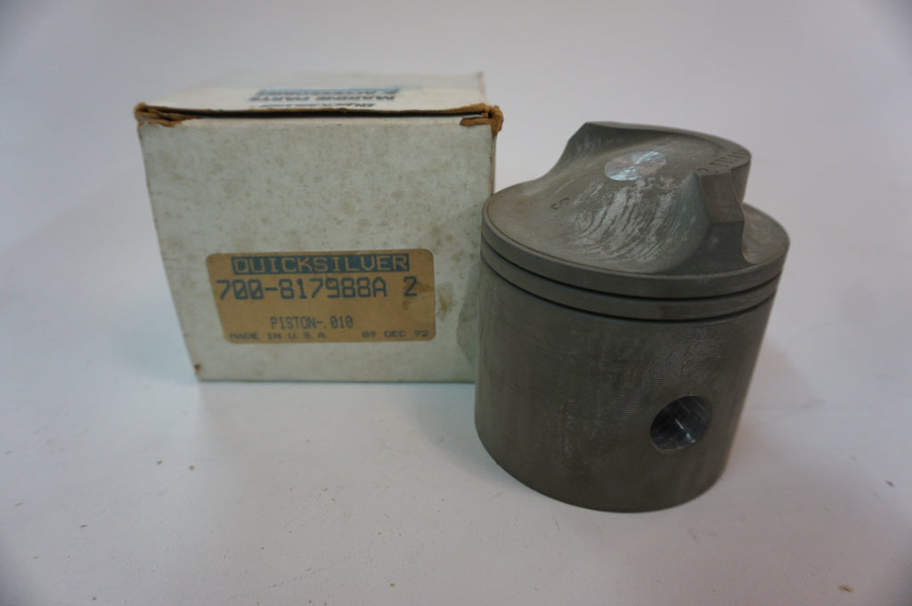 Genuine Mercury Mercruiser Quicksilver - 700-817988A 2 - .010 Piston