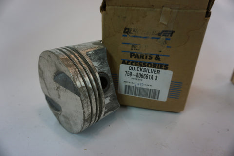 Genuine OEM Mercury Marine Quicksilver - 759-806661A 3 - Standard Piston