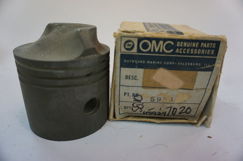 Genuine OMC Johnson Evinrude 593401 Piston