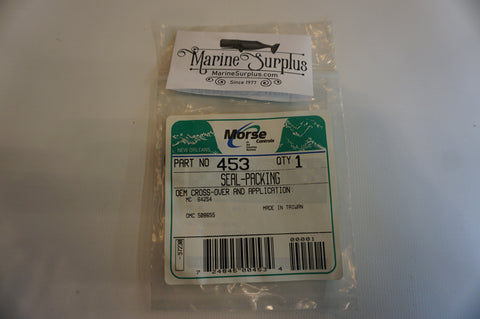 Mercury / Mercruiser Carrier Packing Seal - Part: 64254, 64254001, Morse Part: 453, OMC 508655