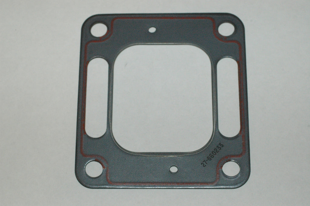 Mercury Marine Quicksilver Mercruiser 27-860233 exhaust riser elbow gasket Genuine OEM Gaskets/Seals MarineSurplus.com