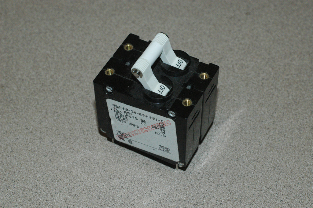 Carling switch AA2-B0-34-650-581-C Double breaker switch marinesurplus.com