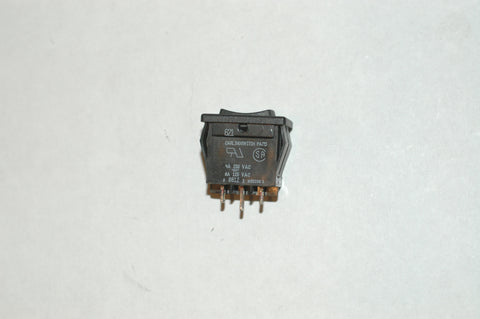 Carling 621-11471 mini rocker switch on-off-on both on's are momentary Electrical & Lighting part from MarineSurplus.com