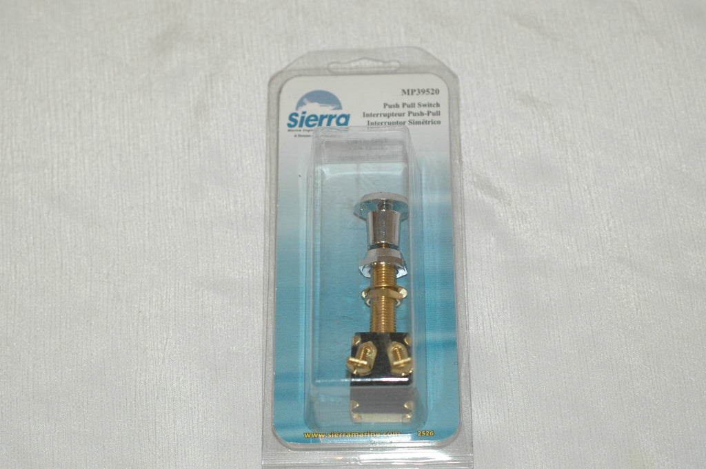 Sierra MP 39520 off-on SPST push pull switch Electrical & Lighting part from MarineSurplus.com