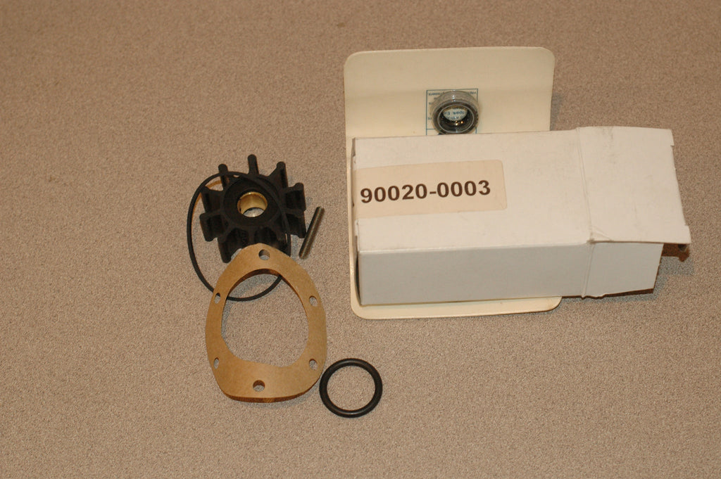 Jabsco 90020-0003 water pump repair kit impeller seal for 2620 series Impellers part from MarineSurplus.com