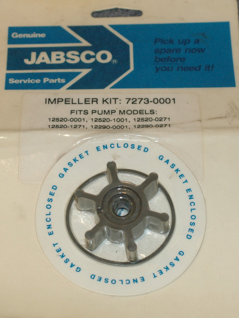Jabsco 7273-0001 Impeller kit see description for details Impellers part from MarineSurplus.com