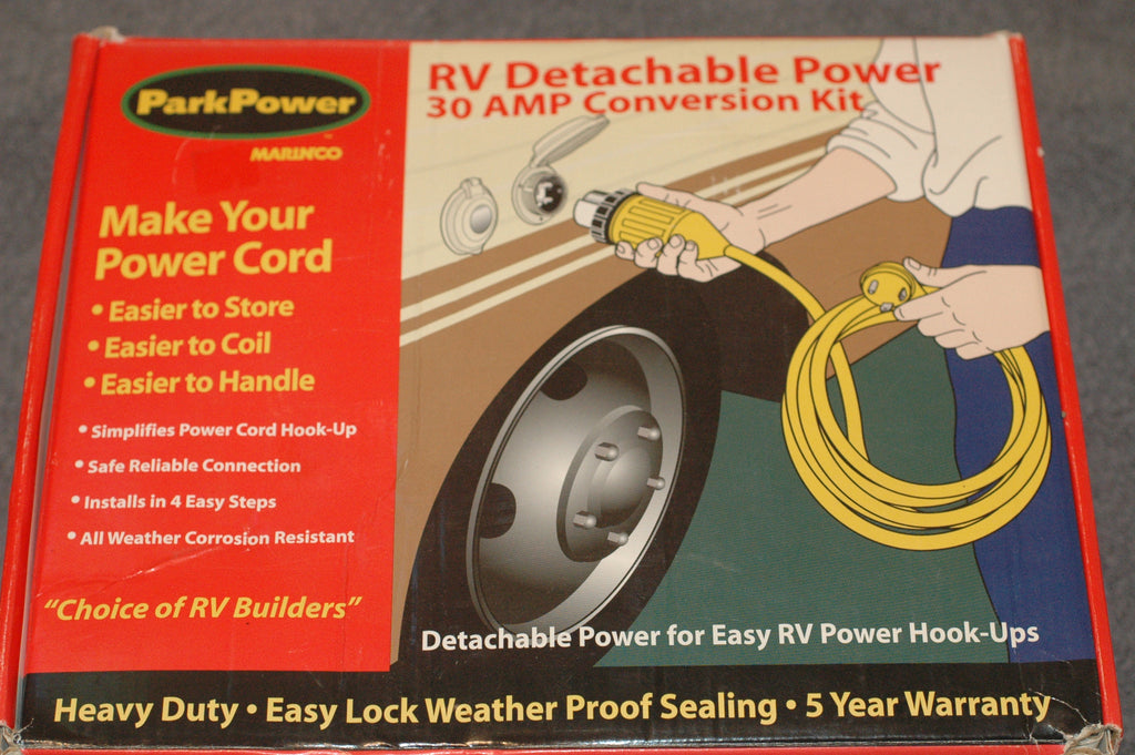 Marinco Park Power Detachable 30 amp RV power conversion 30ARV kit Electrical Systems part from MarineSurplus.com