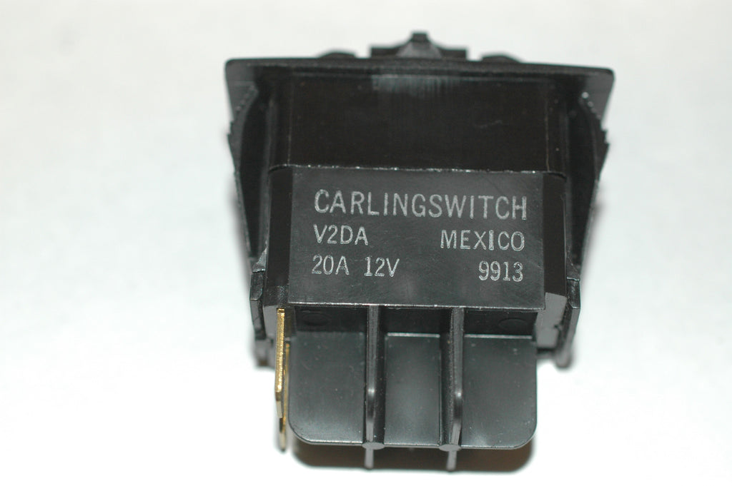 Carling Switch V2DA Lighted momentary on/ off without cover Electrical Systems part from MarineSurplus.com