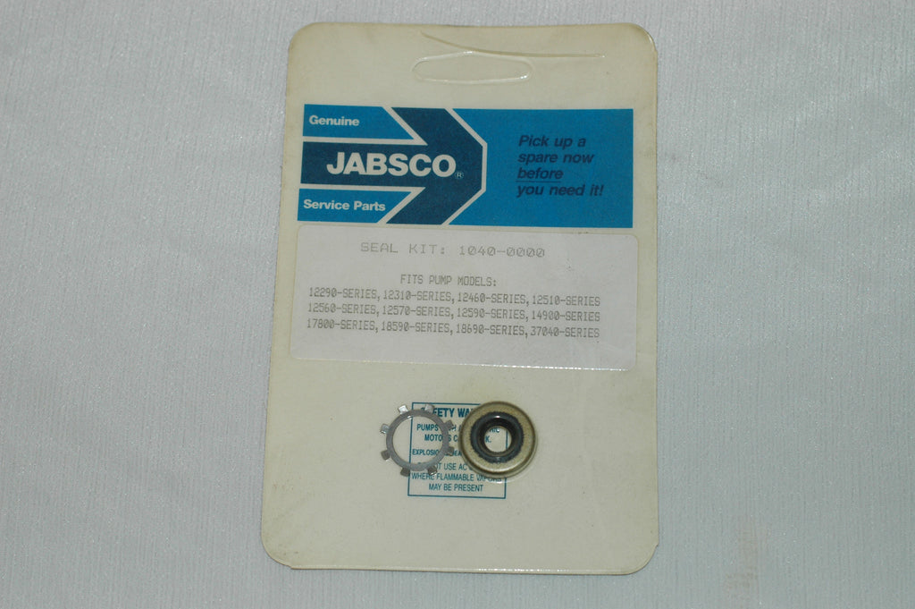 Jabsco 1040-0000 seal and washer kit Gaskets/Seals part from MarineSurplus.com