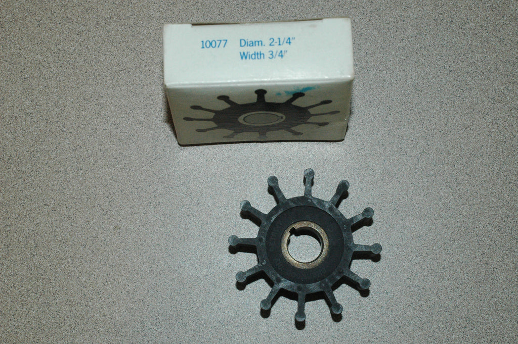Sherwood 10077 Impeller Impellers part from MarineSurplus.com