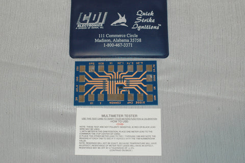 CDI Electronics Resistor Test Circuit Card 511-9800 Tools part from MarineSurplus.com