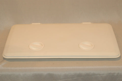 "Tempress Fish-On 44900 Deck Access Hatch White for 20.75""x10.75"" cutout"