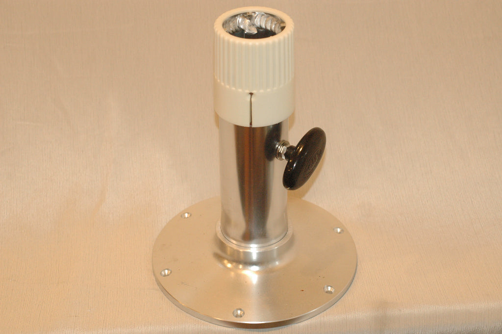 "Garelick 75436 Adjustable 12""-17"" high Standard Friction Lock Pedestal 2-7/8"""
