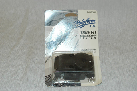 "Polyform Boat TFR402 Fender Holder Swivel Connector Fits 7/8"" - 1"" Rails - MARINESURPLUS.COM"