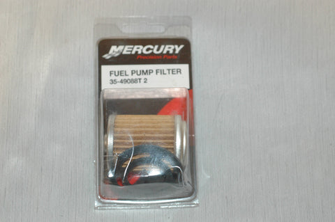 Mercury Quicksilver Fuel Pump Filter 35-49088T2, 35-49088Q2 - MARINESURPLUS.COM